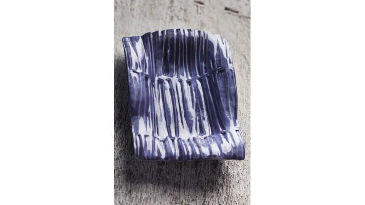 Porte-savons Classique Impression cannelle couleur lavande argile pâle