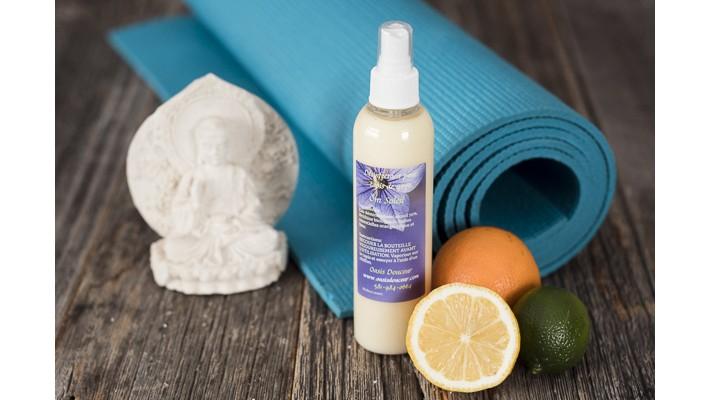 Désinfectant à tapis de yoga Ôm Soleil - 240g